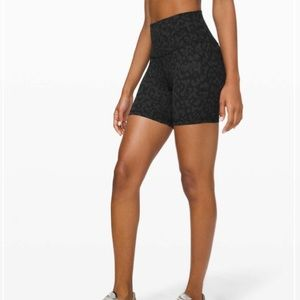 Lululemon Align Shorts Formation Camo Black 10